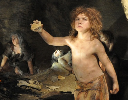 Neanderthal cave boy2